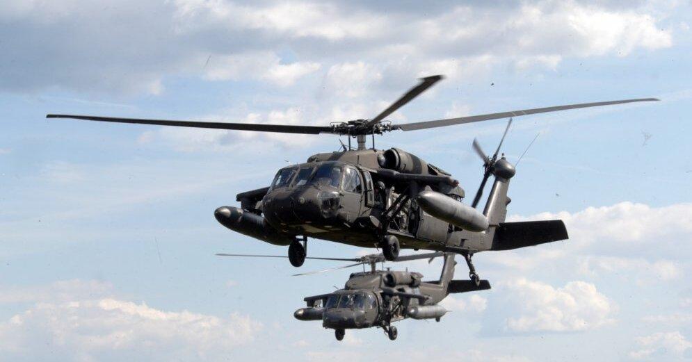 Литва купит вертолеты Black Hawk почти на 300 млн евро