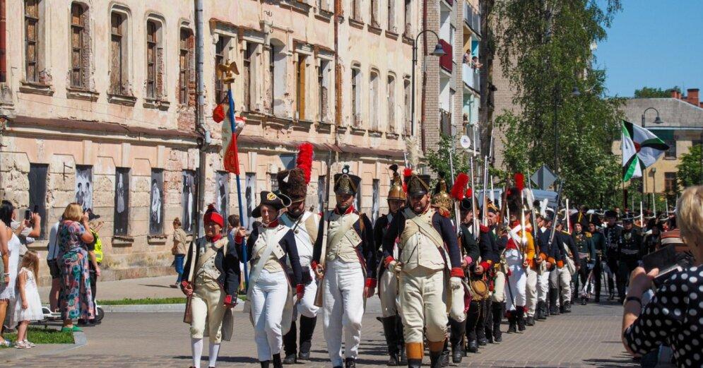 На этих выходных в Даугавпилсе проходит V Международный фестиваль исторической реконструкции /программа/