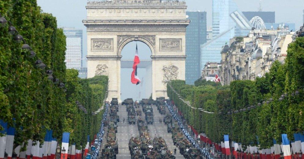 В Париже в ходе протестной акции подожгли банк, пострадали 11 человек