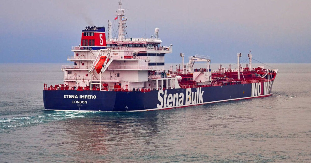 Латвия направила ноту Ирану по делу задержанного латвийского моряка