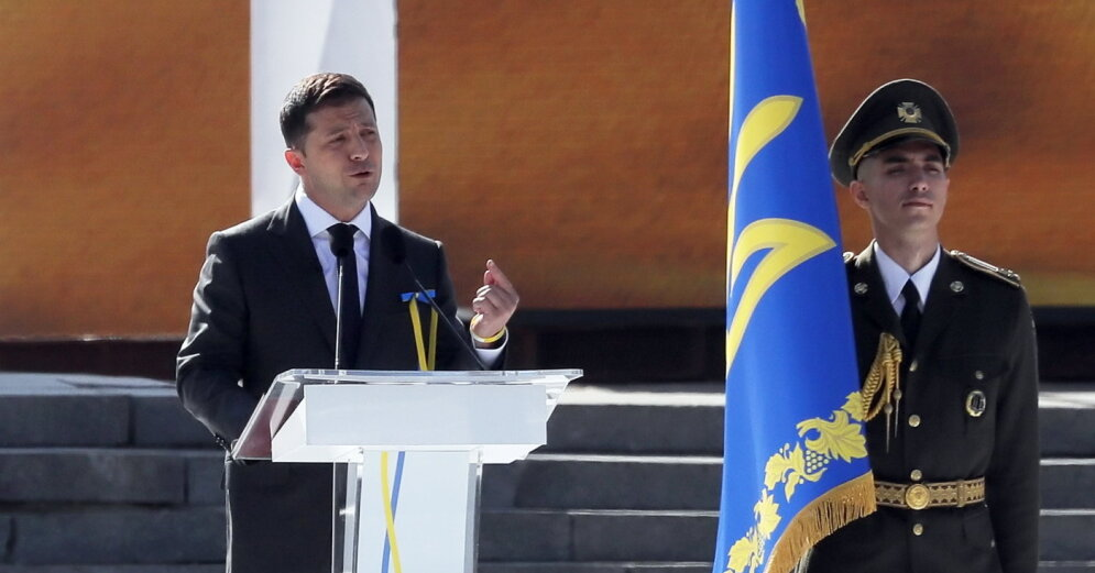 Зеленский сравнил Крым с похищением ребенка