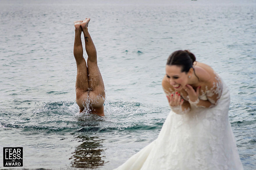 Руку, сердце и немного безумия. Топ-22 самых вызывающих свадебных фото 2017 года