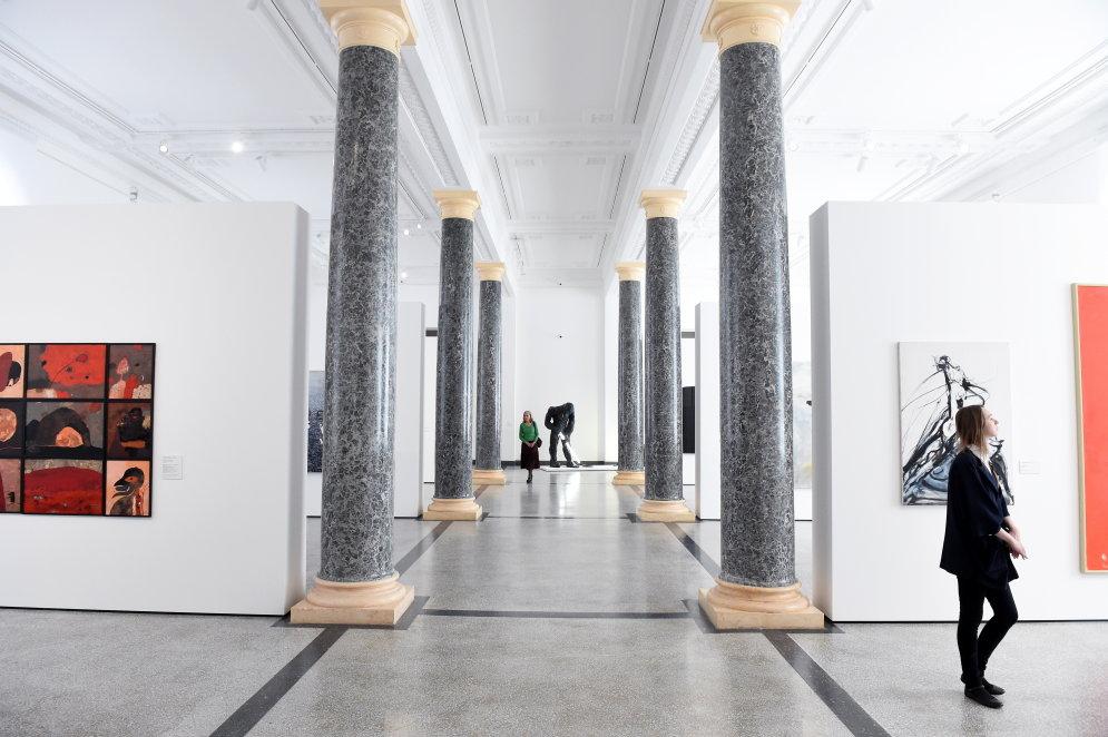 Не стыдно. 60 фото роскошных интерьеров Художественного музея в Риге после реставрации