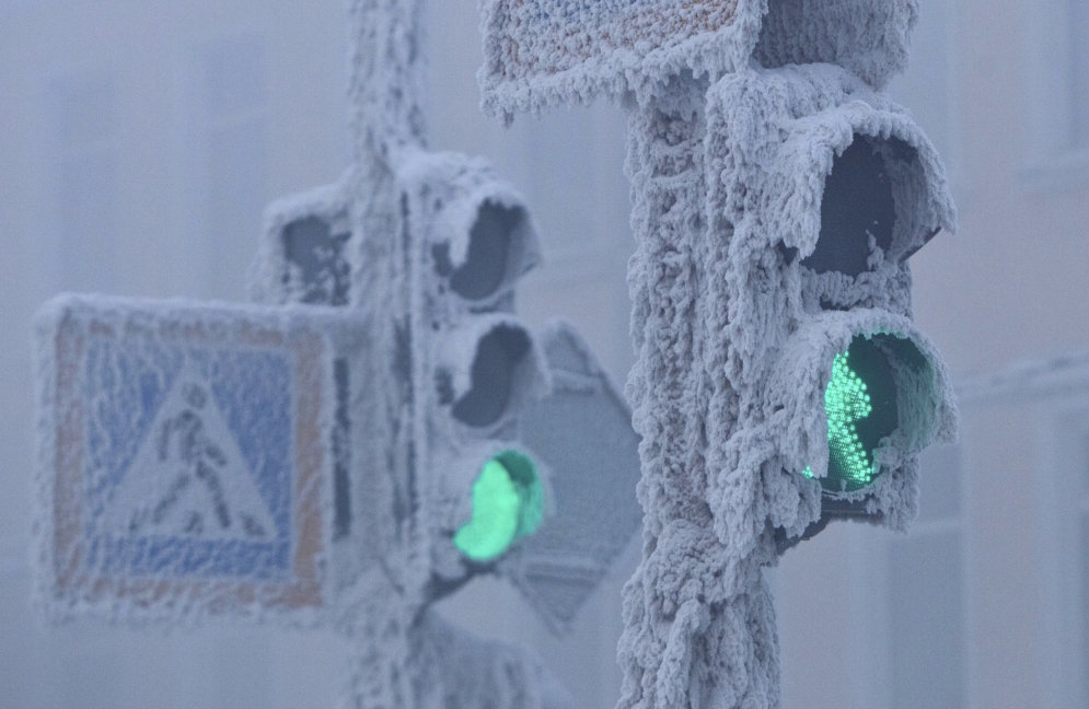Oimjakona - pasaulē aukstākā un skarbākā apdzīvotā vieta