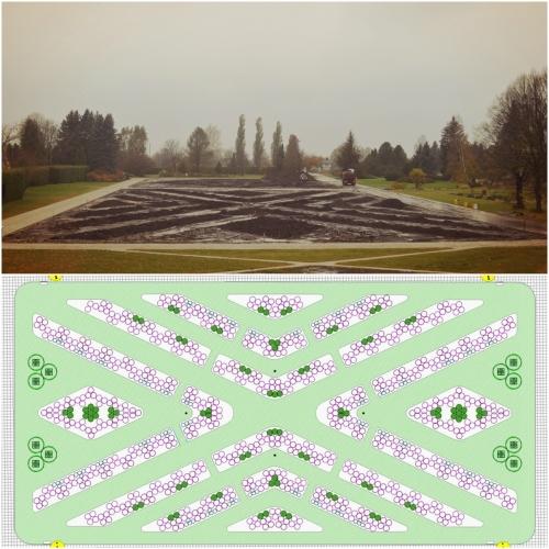 Rekonstrukcijas projekta autore ainavu arhitekte Kristīna Briķe.