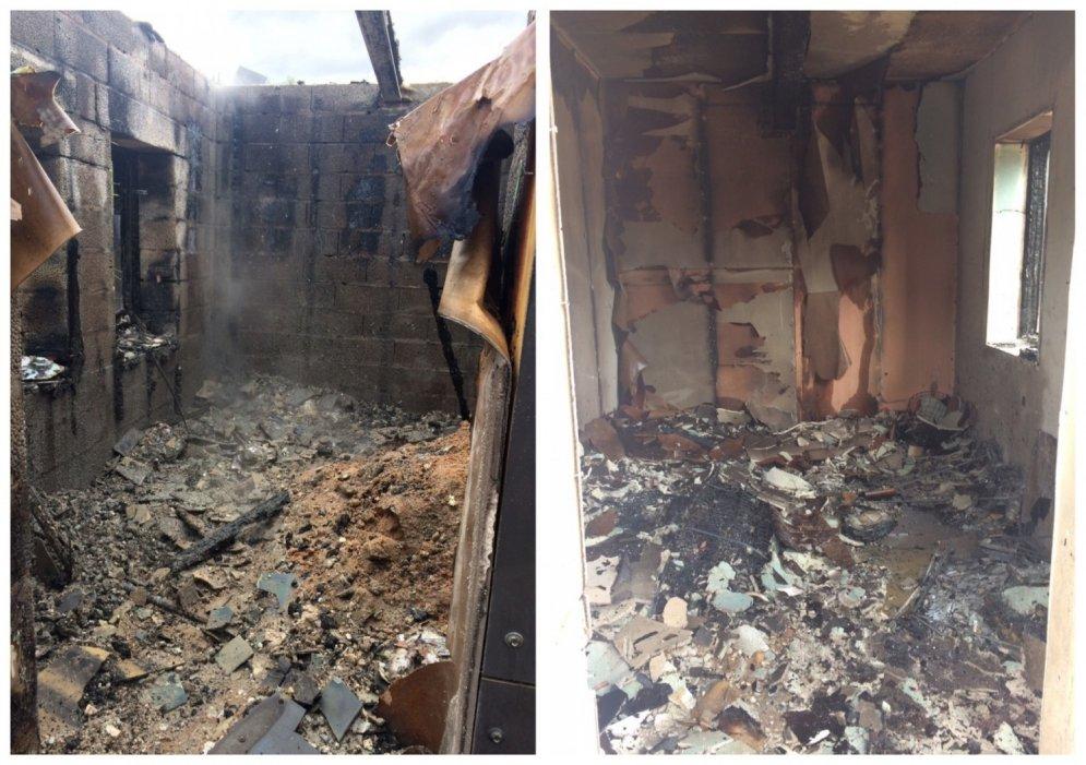 VIDEO eksperiments: koka un mūra māju ugunsdrošība