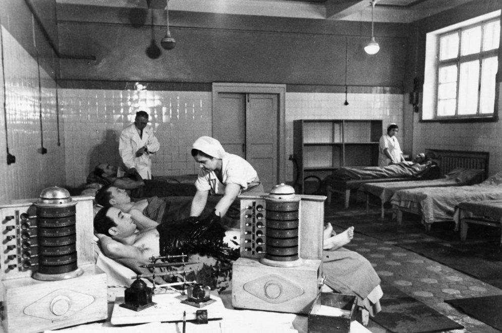 Arhīva foto: Kā izskatījās padomju spa kūrorti piecdesmitajos gados