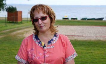 Sandra, Rāzna:  Ja mēs visi strādātu, tad Latvija ļoti labi dzīvotu