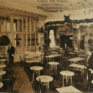 Rīgas kafejnīcas