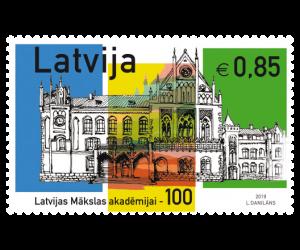 LATVIJAS MĀKSLAS AKADĒMIJAI - 100