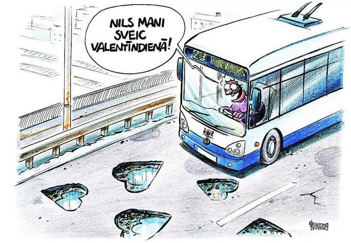 G. Šļūkas karikatūra